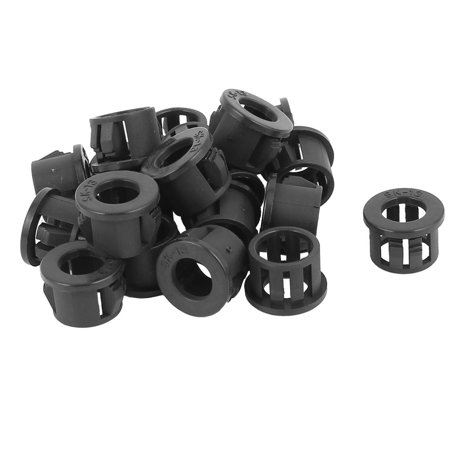 20pcs 13mm Mounted Dia Snap in Cable Bushing Grommet Protector - Snap In Bushing