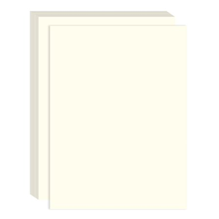 Ivory Cotton Fiber Resume Paper - Perfect for Printing Important Business Documentation, Resumes - 100 Count - 8.25 x 11