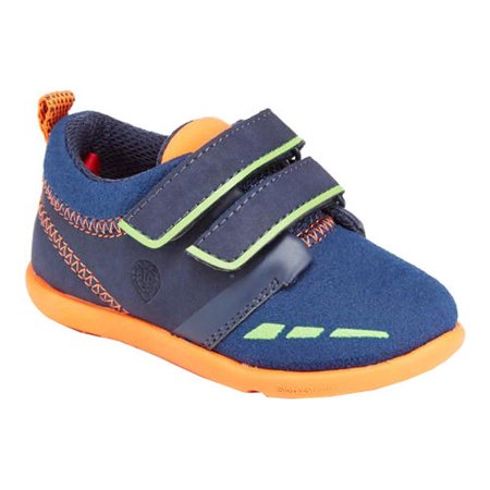 infant boys' step & stride warwick hook and loop sneaker ()