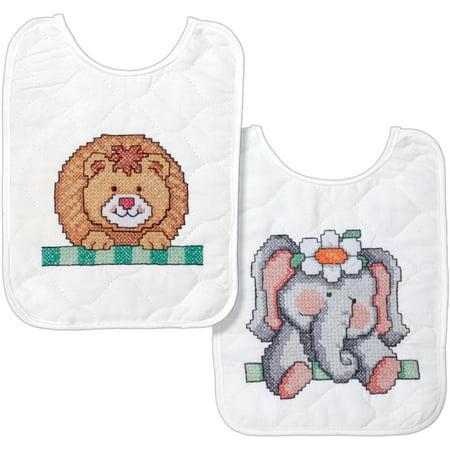 Tobin Baby Cross Stitch Kit, Baby Bib, Noah's Ark (Cross Stitch Big)