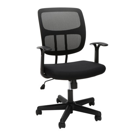 OFM Essentials Series Mesh Office Chair, in Black (ESS-3003)