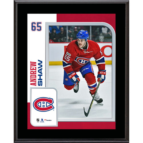 "Andrew Shaw Montreal Canadiens 10.5"" x 13"" Sublimated Player Plaque - No Size"