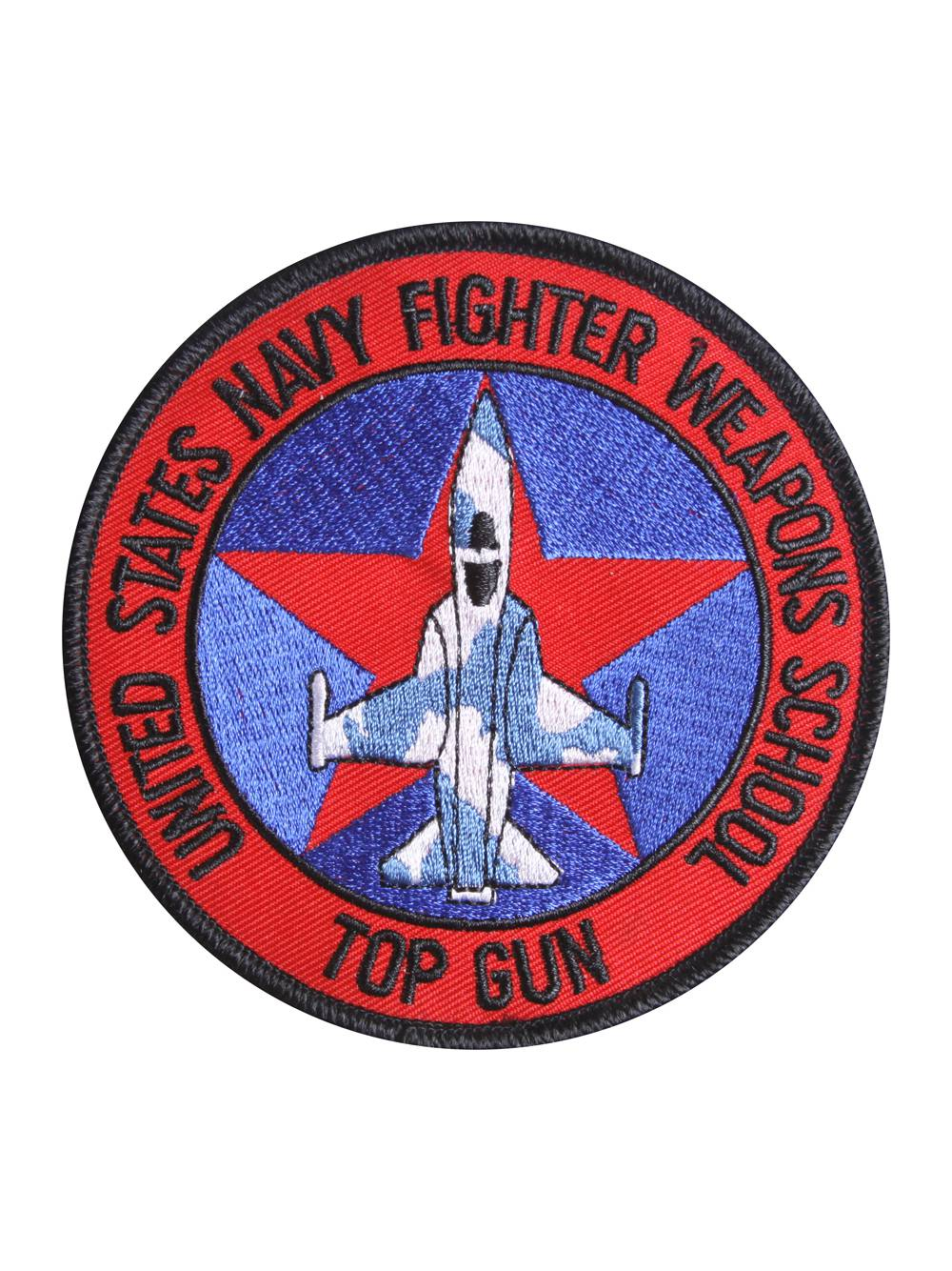 FREE IRON ON WHEN BUY CAP IN STORE AT SAME TIME TOPGUN FIGHTER IRON ON PATCH