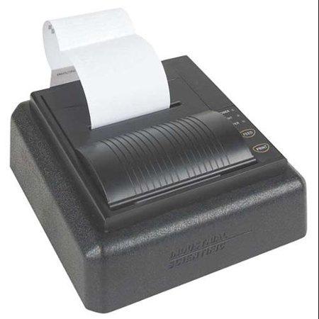 INDUSTRIAL SCIENTIFIC 18107763 Dot Matrix Printer, ABS, 6-1/2 In L
