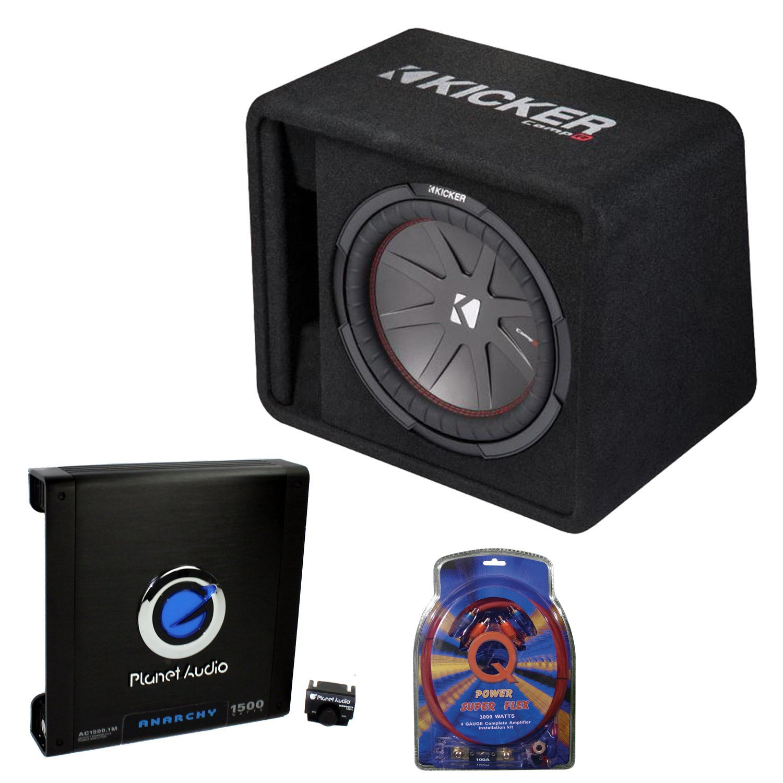 Prime Kicker 12 Inch 1000W Subwoofer Box 1500W Mono Amplifier Remote Wiring Database Wedabyuccorg