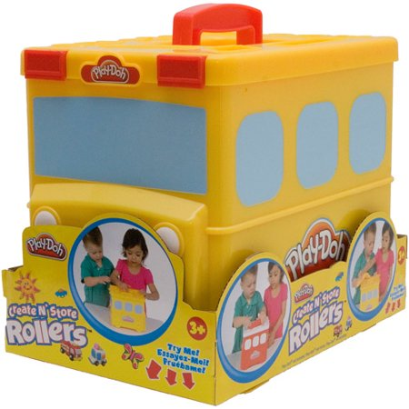 play doh school bus carrier. Black Bedroom Furniture Sets. Home Design Ideas