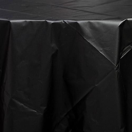 Plastic Table Cover, Black