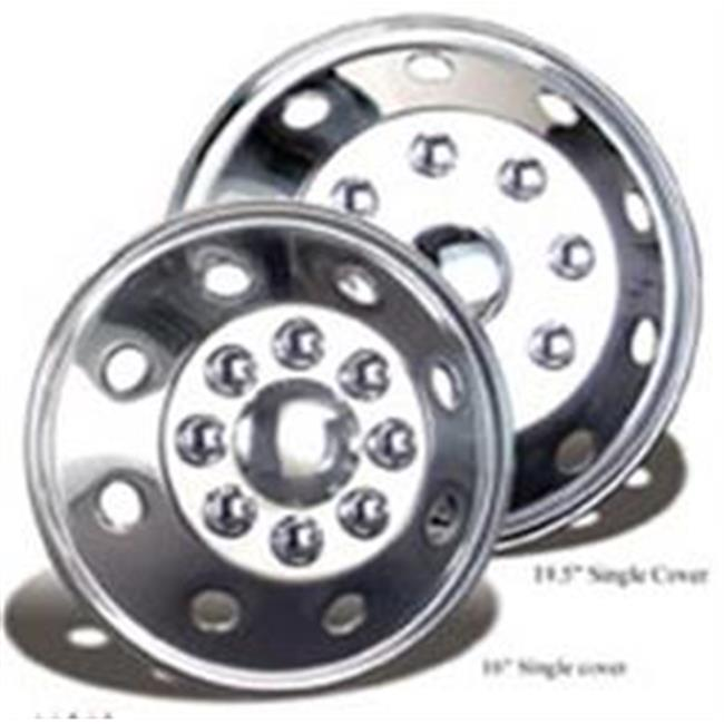 Wheelmaster 3195B0 19. 5 inch Stainless Wheel Cover Set