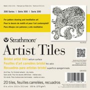 Strathmore Artist Tiles, 6in x 6in, Bristol Vellum