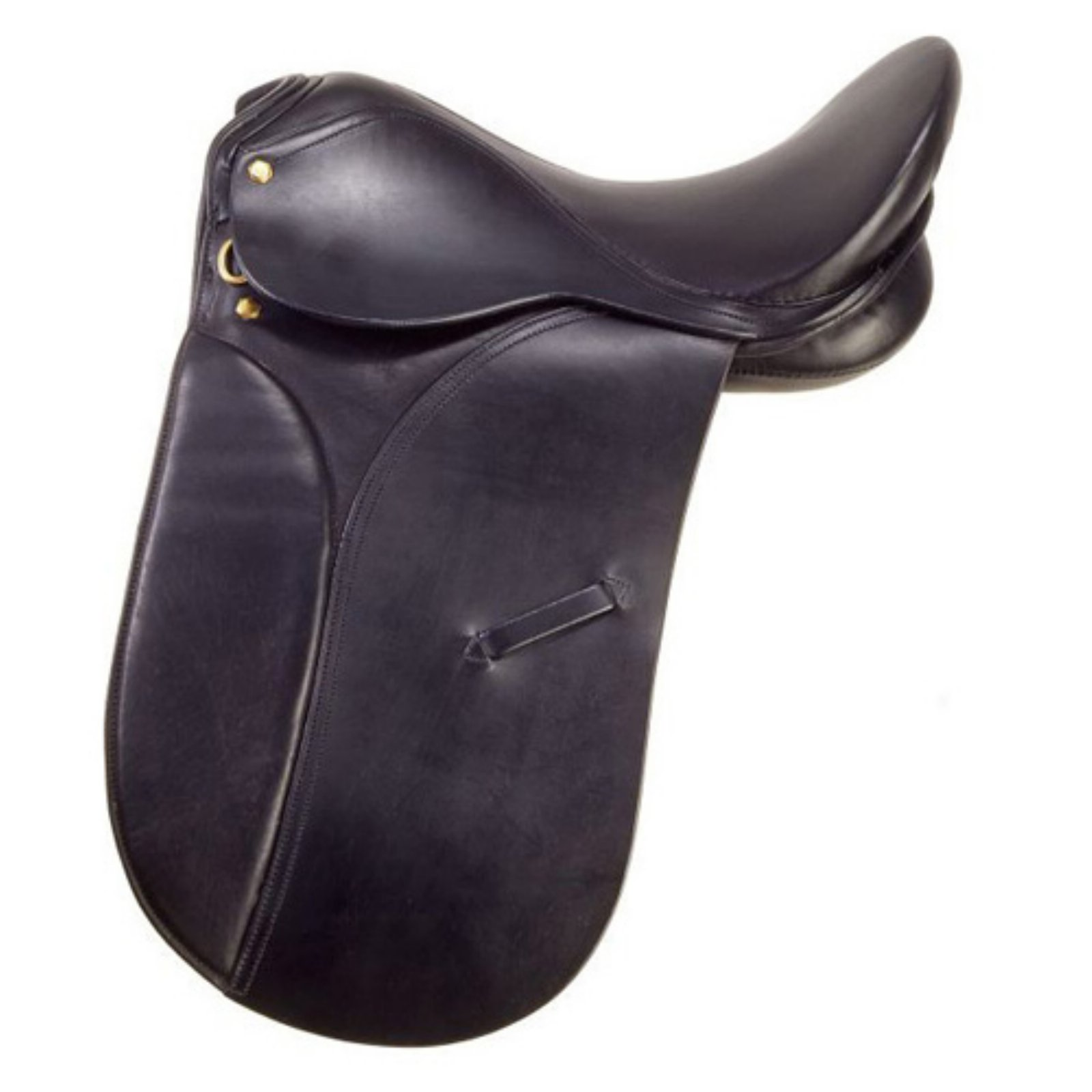 Silver Fox Black Dressage Saddle - ES1306-0-18