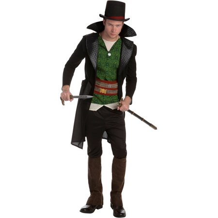 Assassin's Creed Syndicate Jacob Frye Assassin Classic Mens Costume (Black Flag Assassin's Creed Costume)