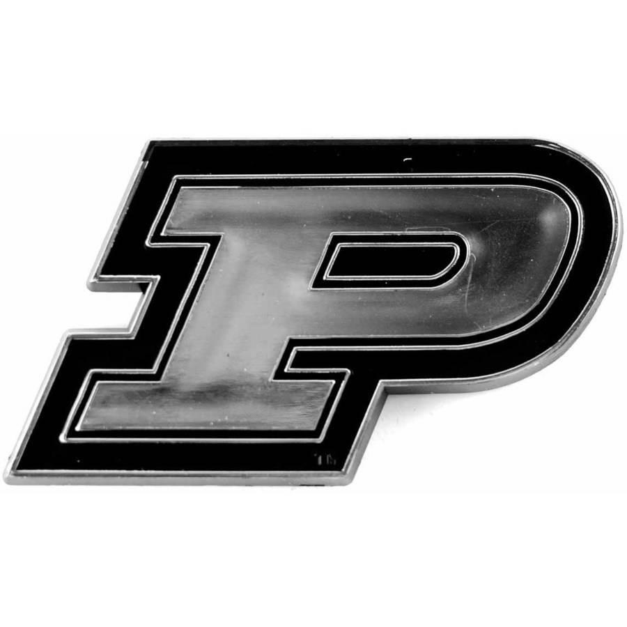 NCAA Purdue Chrome Emblem
