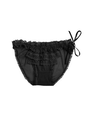 f2b2affbc21c Product Image Women Sexy Transparent Lace Panties Low-waist Bandage Thong  Underwear Bandage Briefs