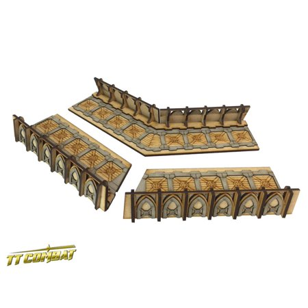Fortified Trench Large Corner Sections New (Trench Section)