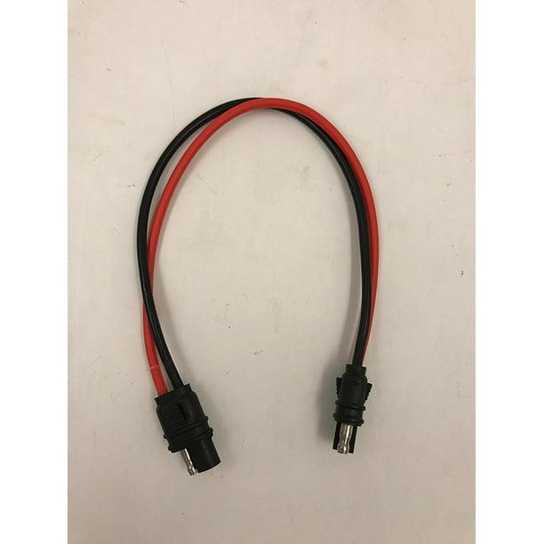 Truepower H212 2 Flat Wire Harness 12 Gauge 2 Pin Quick Disconnect Harness 12 Walmart Com Walmart Com