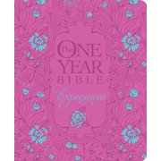 The One Year Bible Expressions, Deluxe (Hardcover, Pink Flower w)