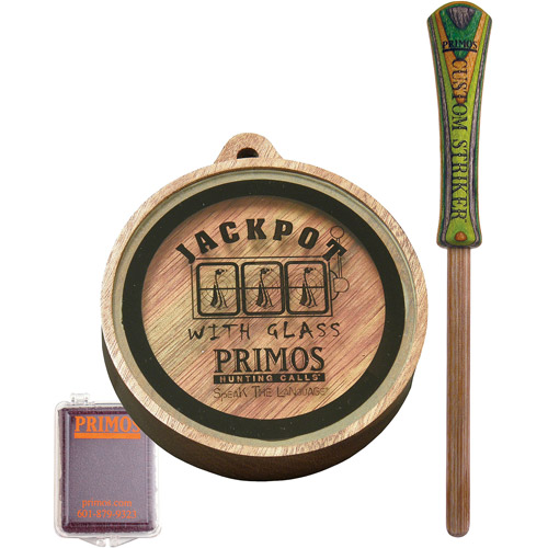 Primos Jackpot Glass Slate Turkey Call