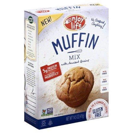 Enjoy Life Muffin Mix, 14.5 Oz (Pack of 6) - Vegane Halloween Muffins