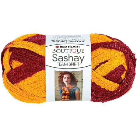 Red Heart Boutique Sashay Team Spirit Yarn Available In Multiple