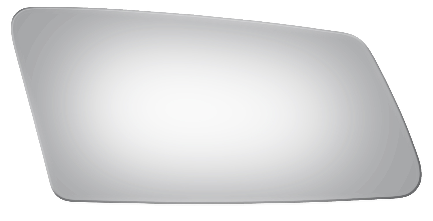 Burco 3008 Right Side Mirror Glass For Buick Century