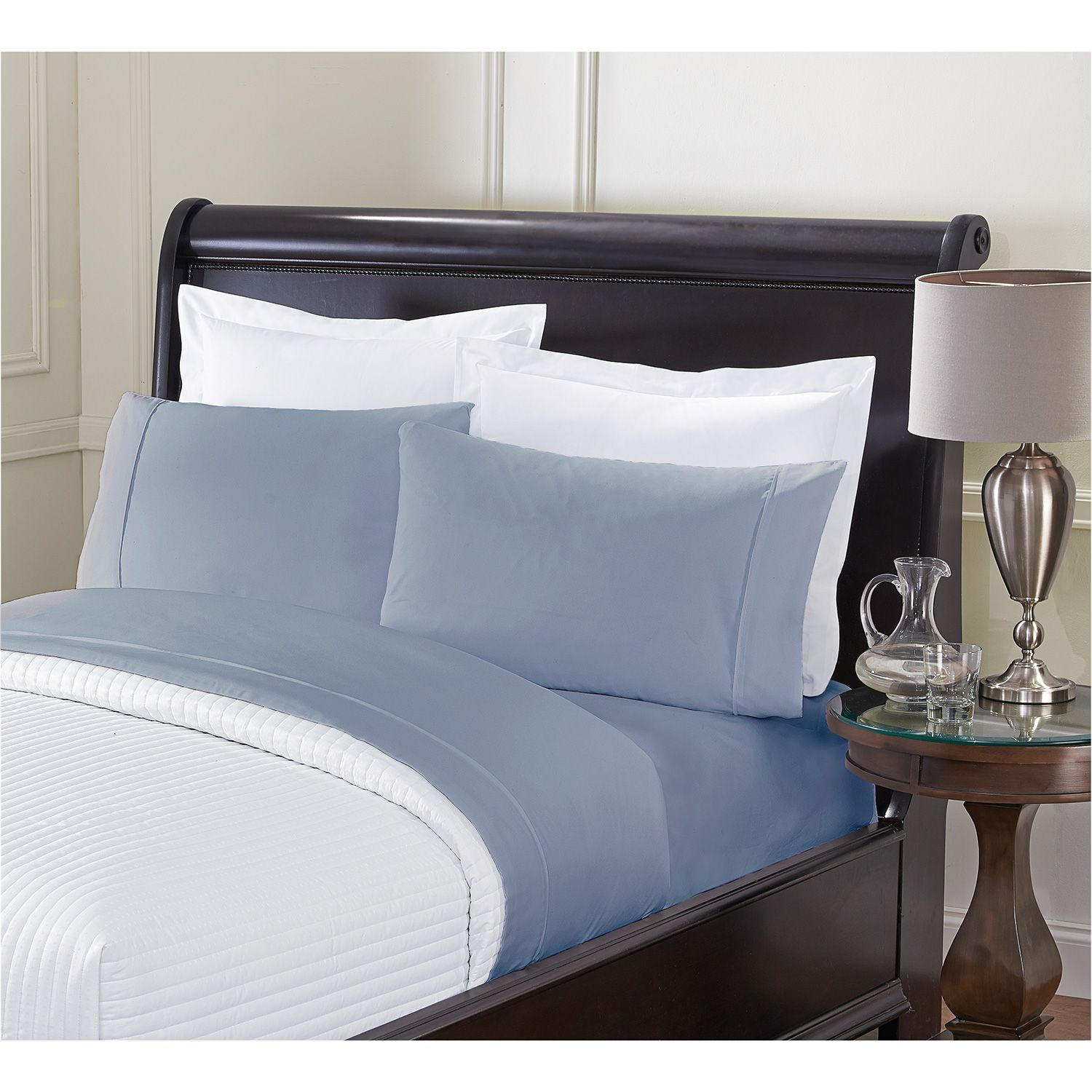 Soft Touched King Size Sheets - Blue