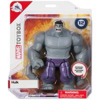 Disney Marvel Hulk Gray Action Figure Toybox New with Box
