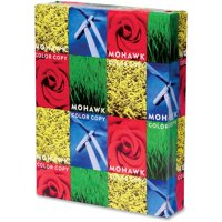 Mohawk, MOW36202, Glossy Color Copy Paper, 500 / Ream, White