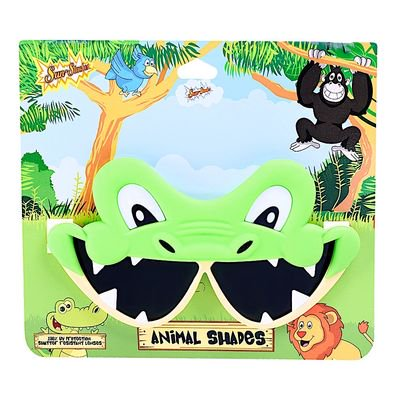 Party Costumes - Sun-Staches - Animals Shades - Crocodile Alligator SG2876 - Crocodile Party