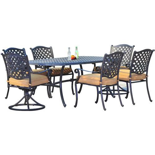 Sunjoy Triumph 7-Piece Outdoor Dining Set