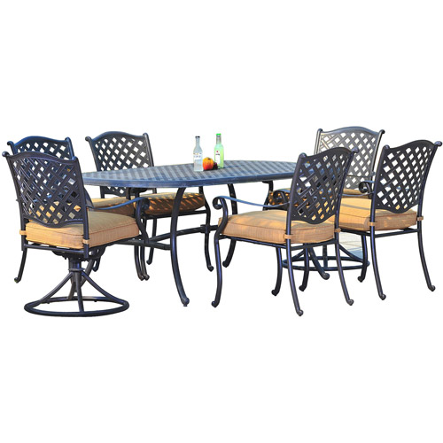 Sunjoy Triumph 7-Piece Outdoor Dining Set