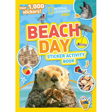 Ng Sticker Activity Books: National Geographic Kids Beach Day Sticker Activity Book (Paperback)