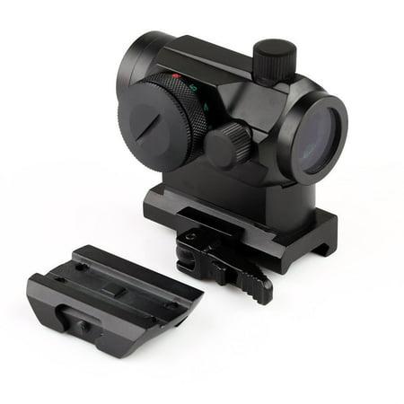 Riser Scope Mount - LIVABIT Tactical RD03C Mini Micro Reflex Red Green Dot Scope Sight QD Quick Riser Mount