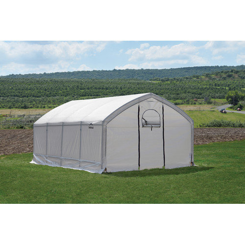 ShelterLogic AccelaFrame HD 12 Ft. W x 20 Ft. D Greenhouse