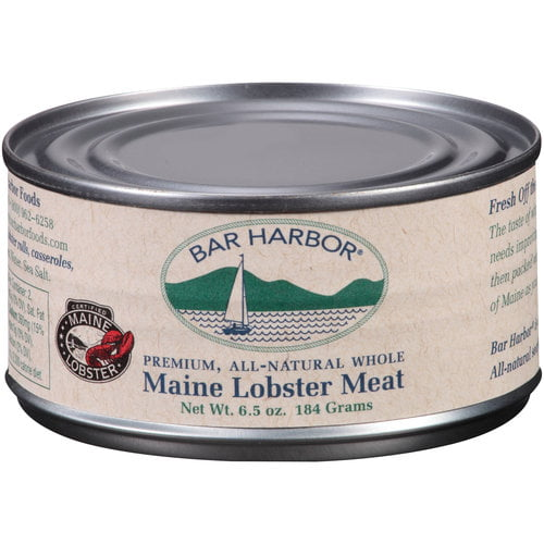 Bar Harbor Premium, All-Natural Whole Maine Lobster Meat, 6.5 oz by Bar Harbor Foods