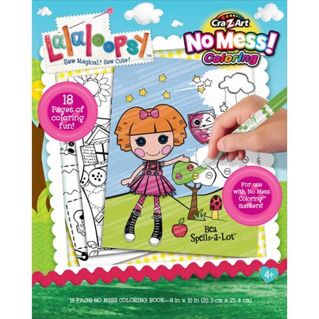 Cra-Z-Art Lalaloopsy No Mess Coloring Book - Walmart.com