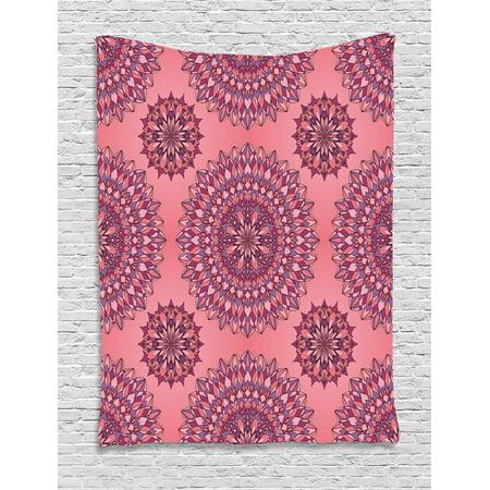 Purple Mandala Tapestry, Ancient Filigree Art Inspired Ethnic ...
