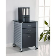 Innovex Archive Series Filing Cabinet, Black