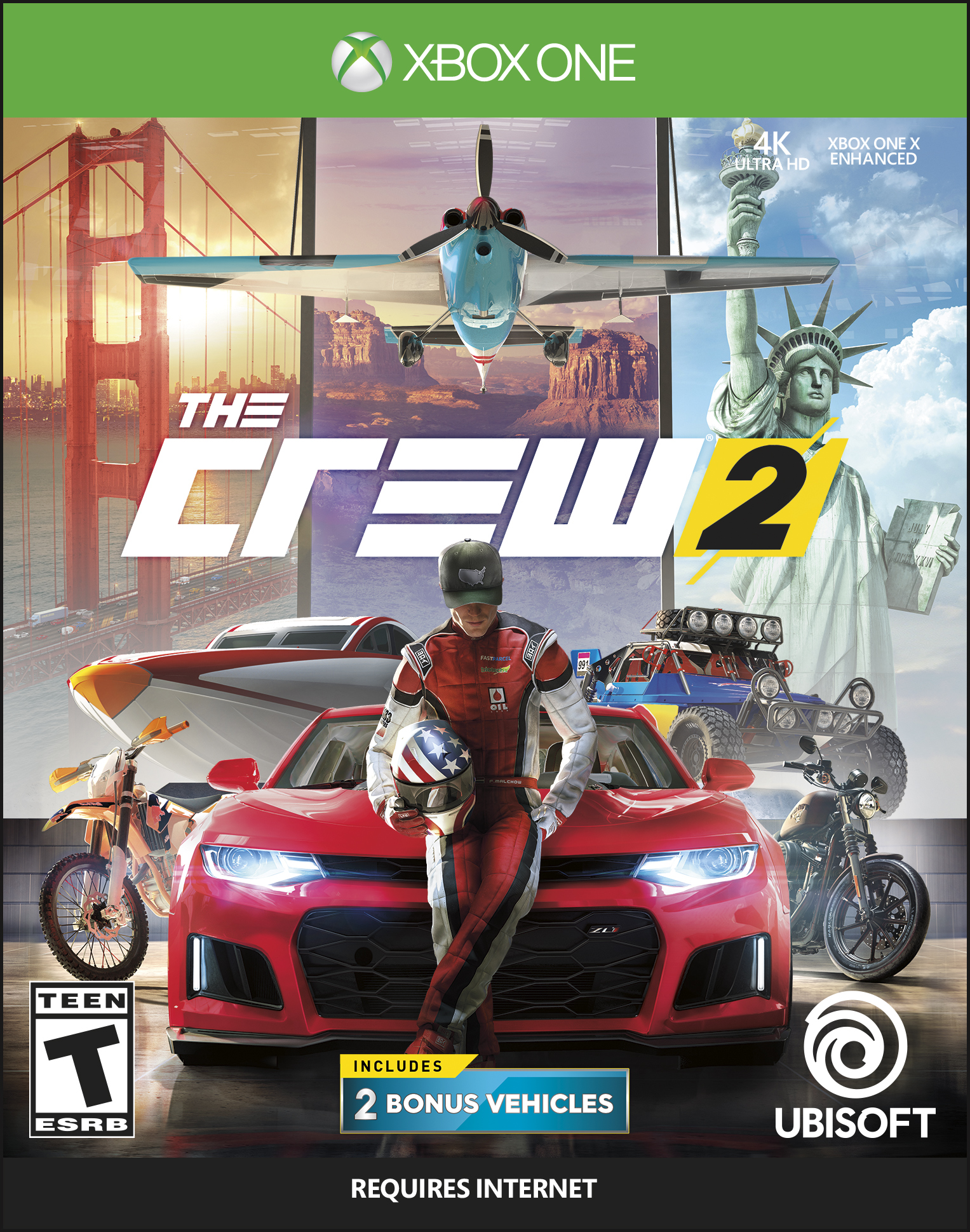 The Crew 2 Day 1 Edition, Ubisoft, Xbox One, 887256029210