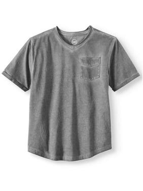 7deb582b0 Product Image Fashion Solid Knit V-Neck Tee (Little Boys & Big Boys)
