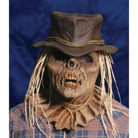 Zombie Scarecrow Mask Adult Halloween Accessory - Scarecrow Mask