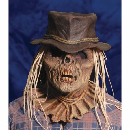 Zombie Scarecrow Mask Adult Halloween Accessory