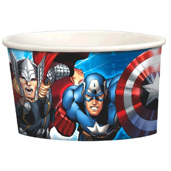 Avengers Ice Cream Cups (8ct) by
