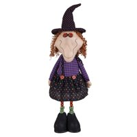 "25"" Standing Halloween Bobble Witch Figurine"