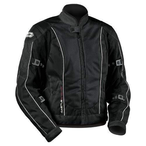 Castle Streetwear Turbine Womens Jacket Black
