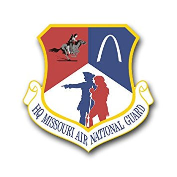 MAGNET US Air Force Headquarters Missouri Air National Guard Decal Magnetic Sticker - Missouri National Guard