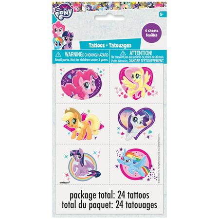 My Little Pony Tattoos (My Little Pony Tattoos, 24ct)