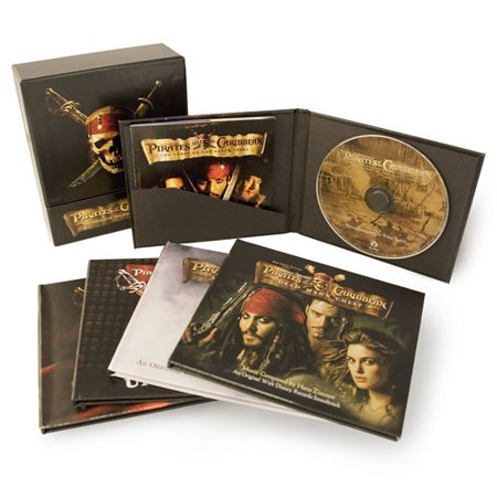 Pirates Of The Caribbean Soundtrack Treasures Collection 4 Disc