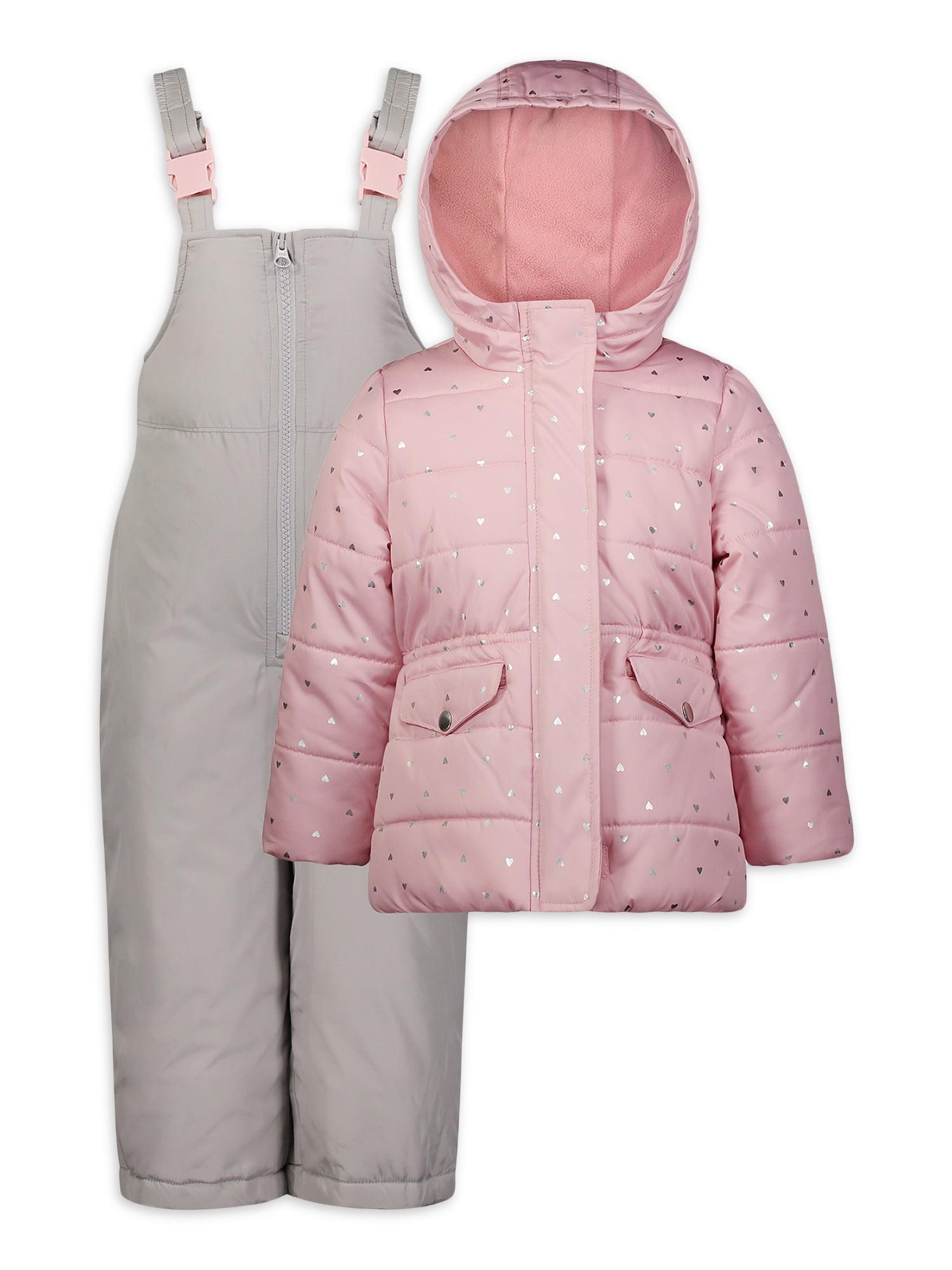 Carters Baby Girls Toddler Classic Bib Snowpant