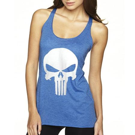 New Way 216 - Women's Tank-Top The Punisher Skull Logo