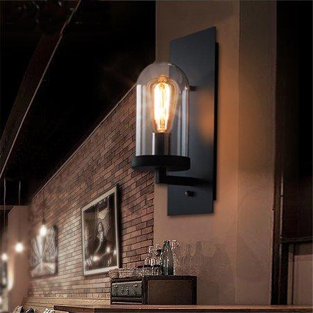 Retro Vintage Outdoor Wall Lamp Lantern Sconce Light Fixture Garden Porch Decor